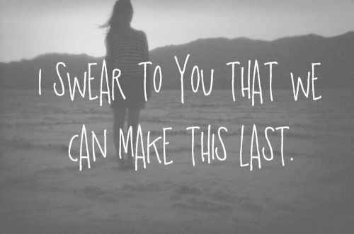 """""""six feet under the stars. all time low <3"""" or If It Means a Lot to You by ADTR, but you know, same thing?"""
