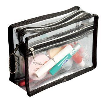 7509187d2445 TS240CR Features  -Makeup bag. -Made of heavy-duty PVC material. -Zippered  top for convenience. -Weather resistant. Exterior Color  -Black.