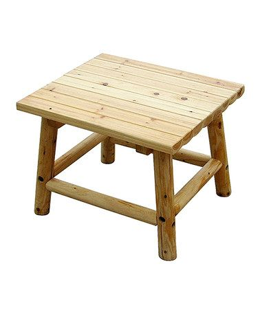 Leigh Country Aspen End Table Aspen Country And Pallet