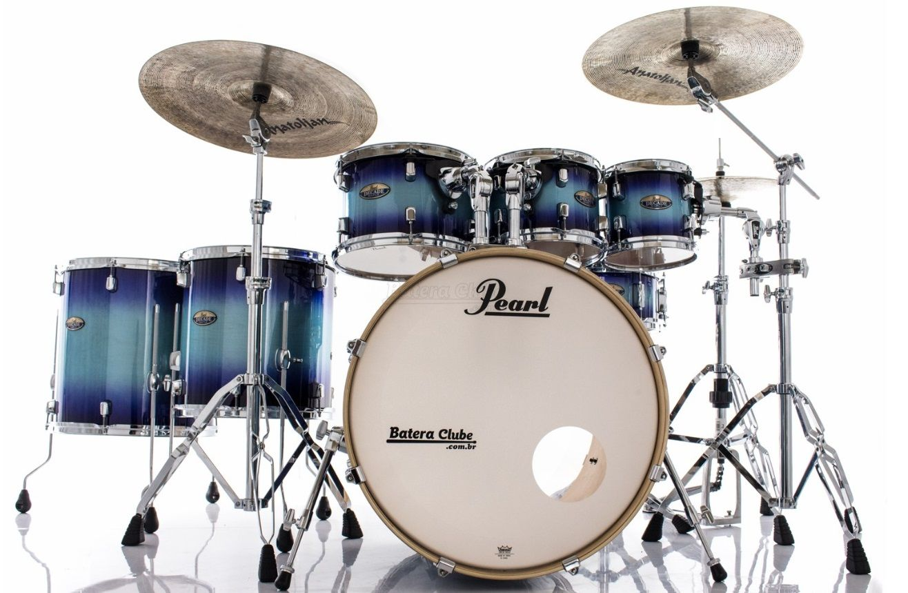Pearl Decade Maple Faded Glory Bateraclube Com Br Pearl Drums
