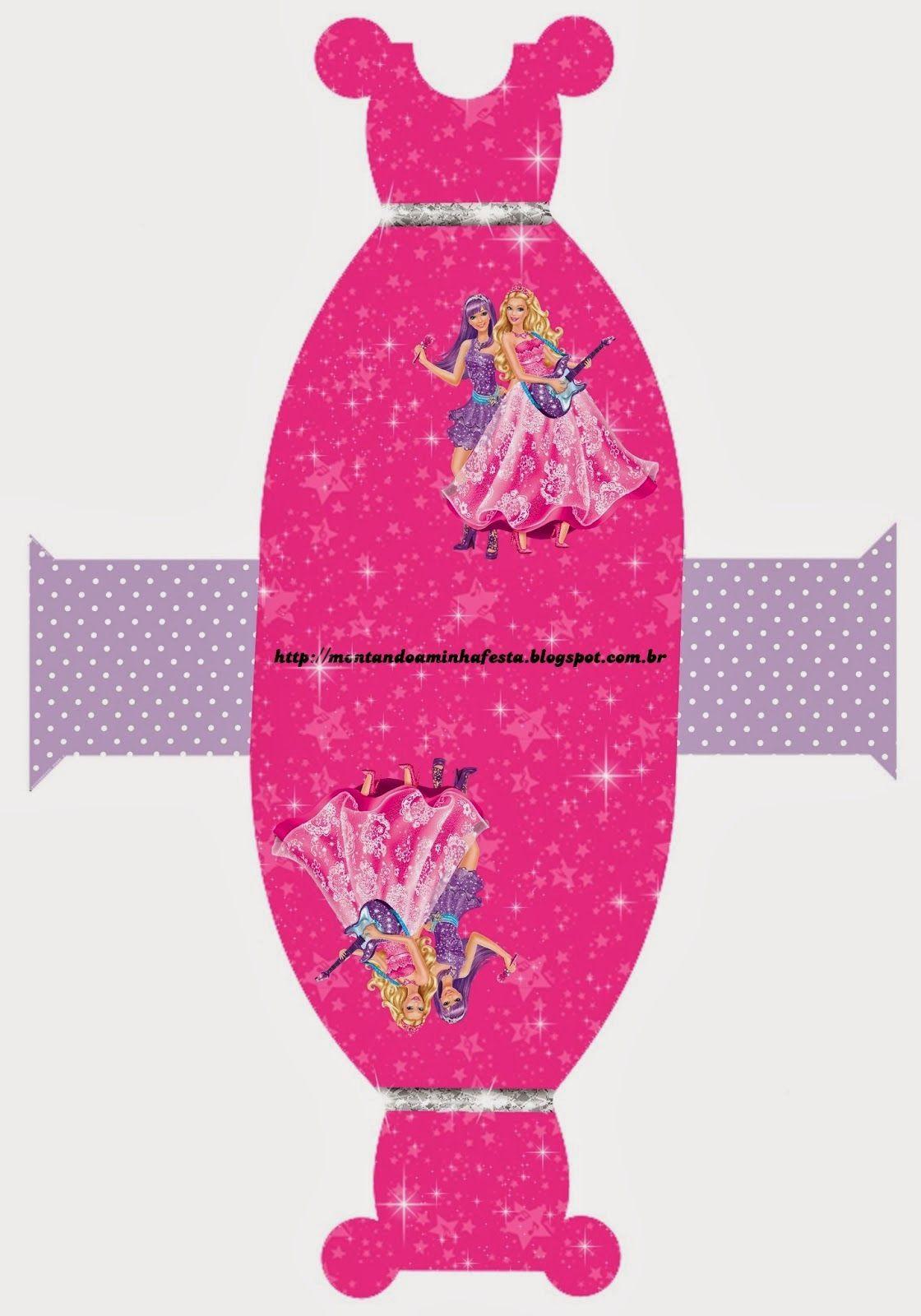 caixa+vestido.jpg (1120×1600)   fiesta barbie   Pinterest   Molde ...
