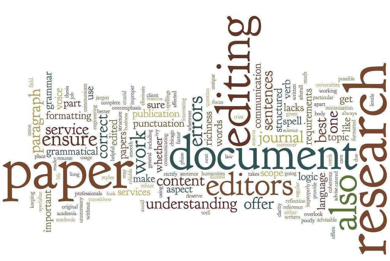 Dissertation editing help questionnaire