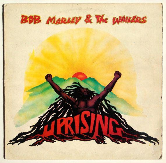 Bob Marley & The Wailers - Uprising LP Vinyl Record Album, Island Records - ILPS 9596, Reggae, 1980, Original Pressing