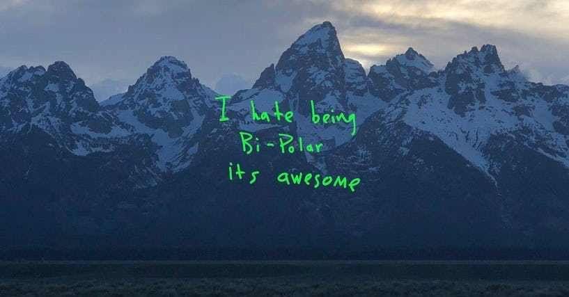 The Best Songs On Kanye West S Album Ye Kanye West New Album Kanye West Albums Music Album Cover