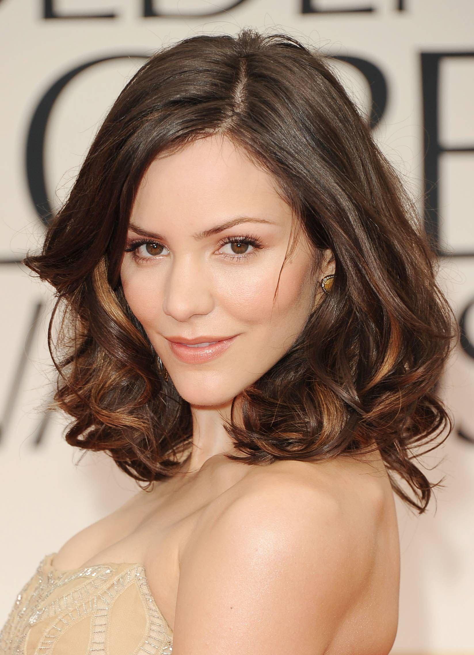 50 Medium Hairstyles & Shoulder Length Haircuts 2016