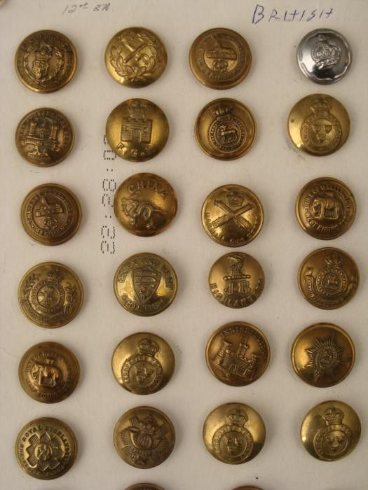 Royal Military School of Music Buttons