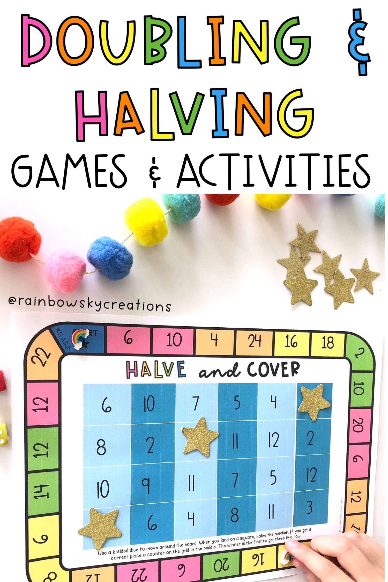 Doubling And Halving Games In