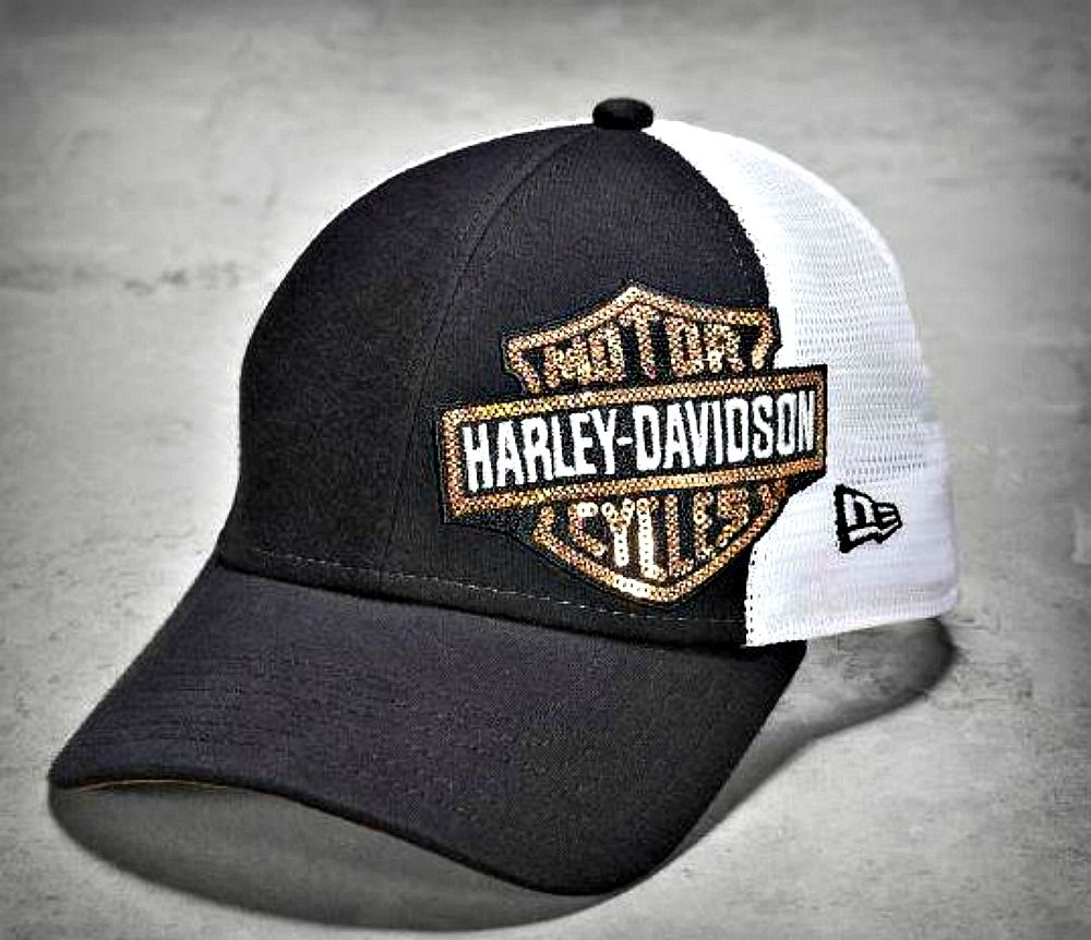 82c53d62911ccd Harley-Davidson® Women's Sequin Trucker Baseball Cap | Motorcycle ...