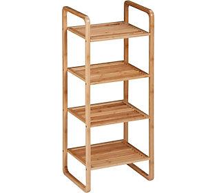 Honey Can Do 4 Tier Bamboo Shelf Bamboo Shelf Shelves Storage