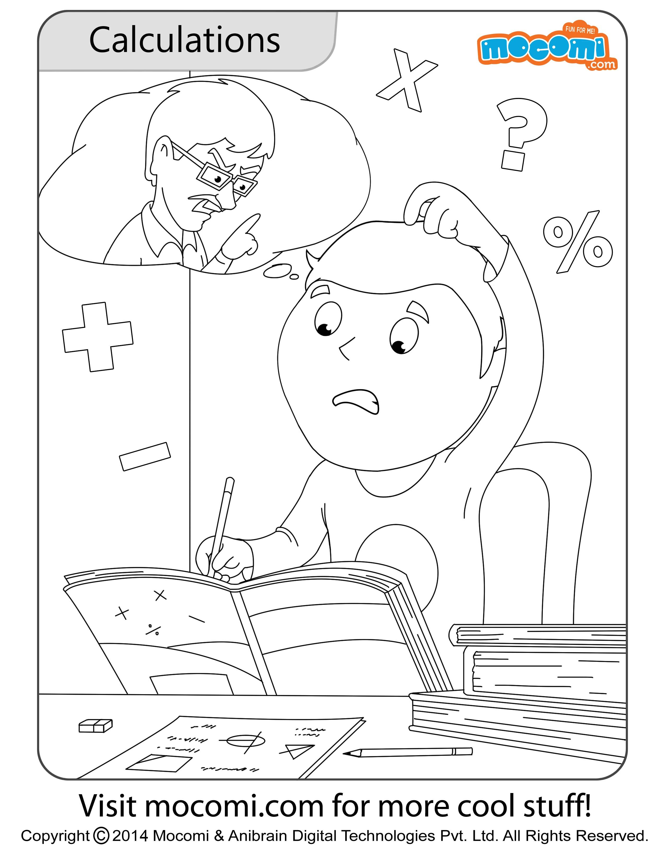 Colouring pages you can colour online - Jojo Calculations Online Jojo Colouringpage For Kids Free Printable Coloring Pages For A