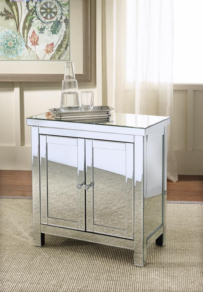 Attractive Mirrored Chests, So Stylish #SteinMart Pictures