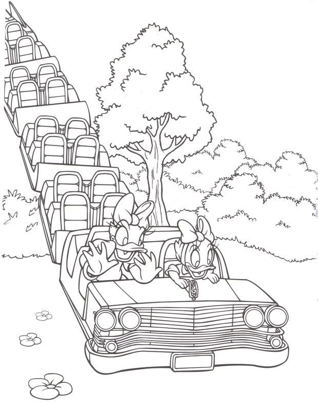 Pin by Tony DeZinno on WDW Coloring Pages | Pinterest | Filing ...
