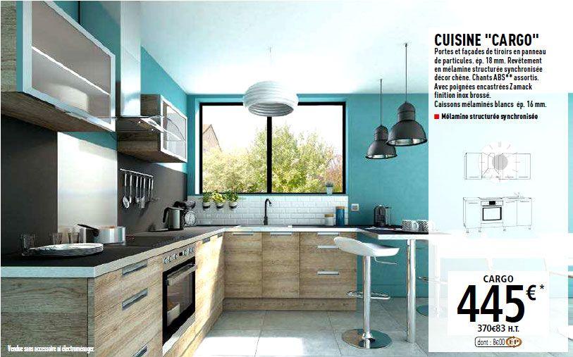 Cuisine Brico Dépôt Cargo Cocinas Pinterest Chesterfield - Facade de meuble de cuisine brico depot pour idees de deco de cuisine