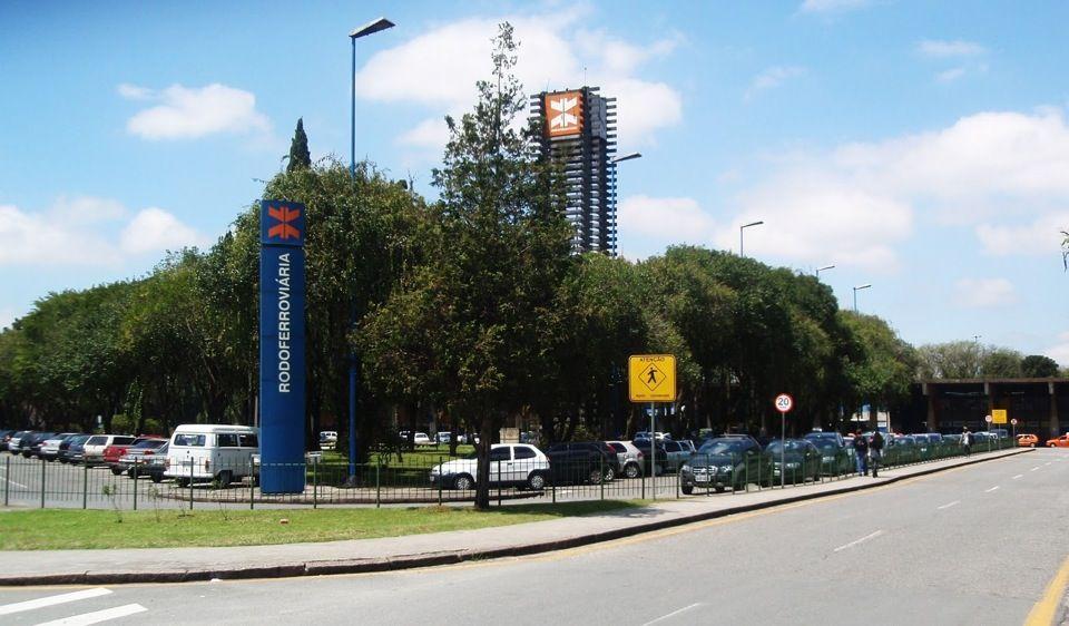 Rodoferroviária de Curitiba. #curitiba