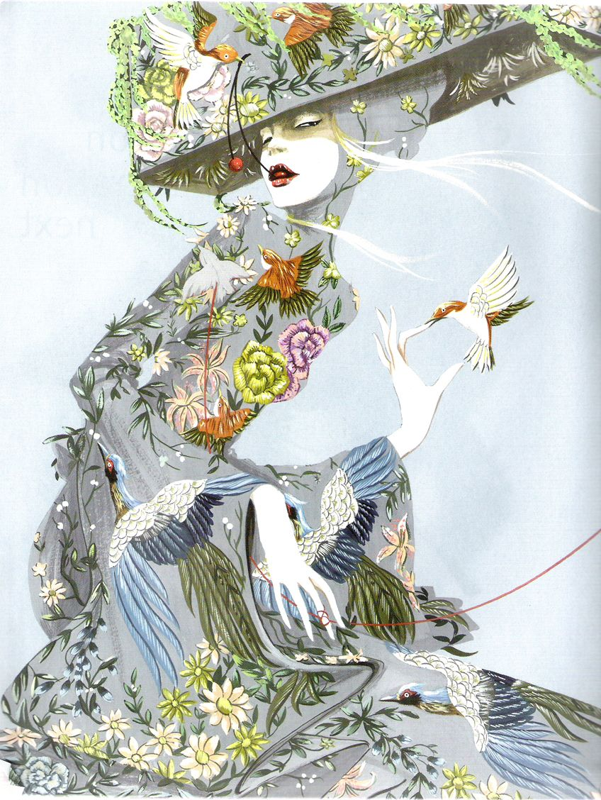 Richard Grey fashion illustration