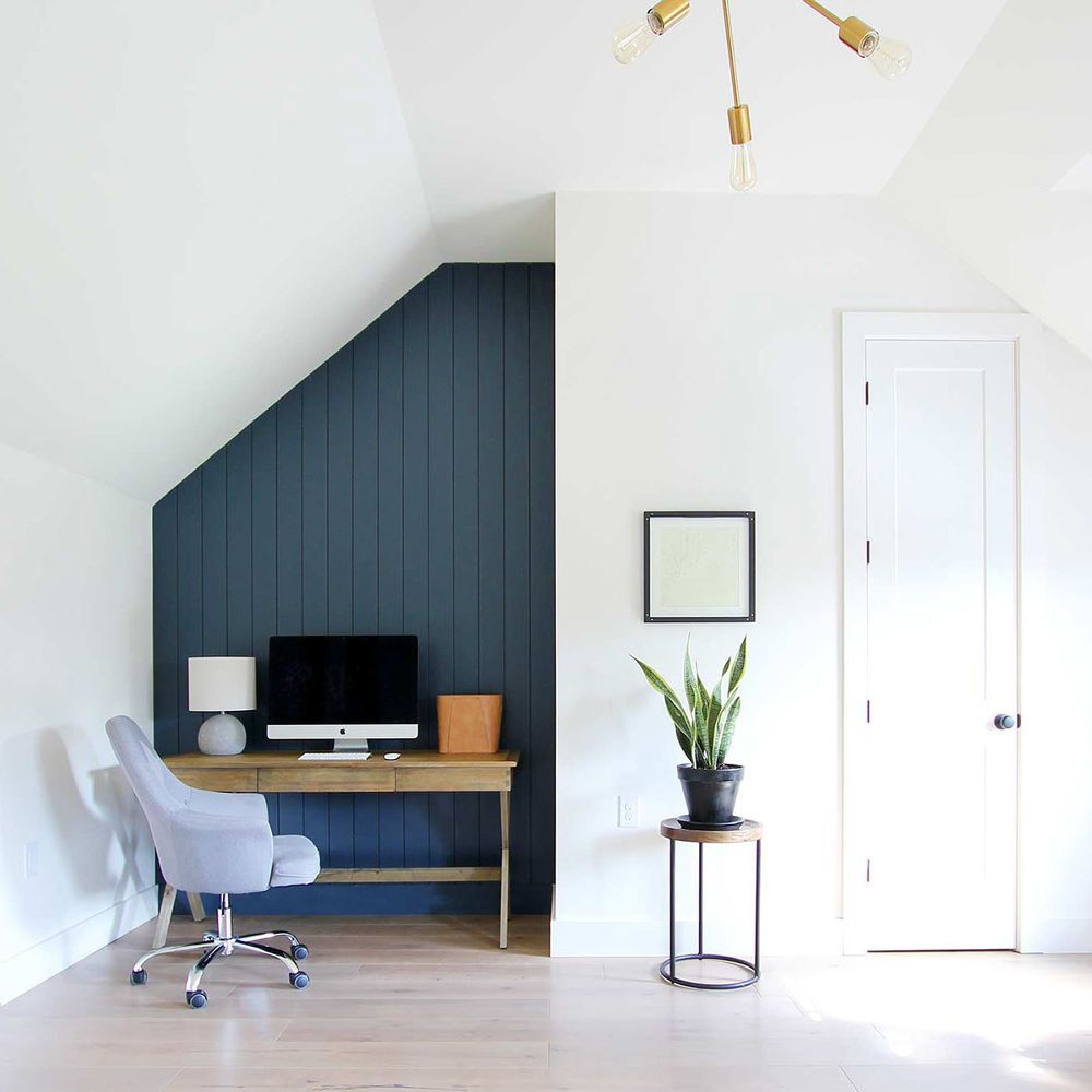 How To Create A Dark Vertical Shiplap Accent Wall Diy Shiplap Accent Wall Ship Lap Walls Home