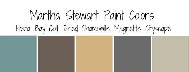 Martha stewart paint colors nice pallet living room rules pinterest martha stewart paint for Martha stewart exterior paint colors