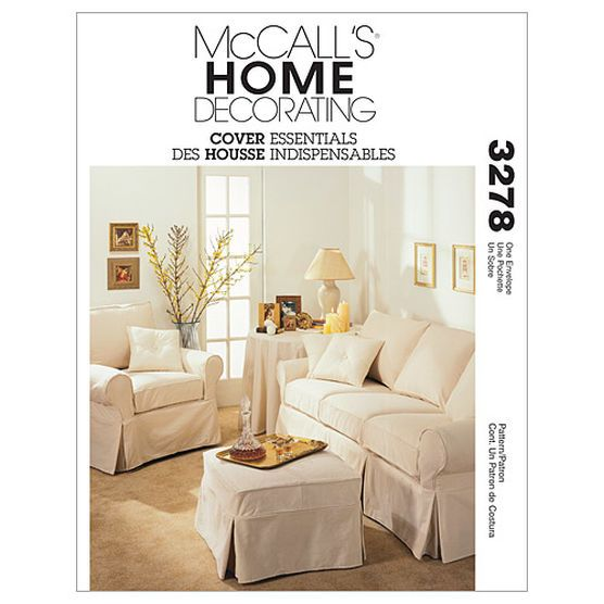 McCall\'s Home Design Home Designs-M3278 | Sewing | Pinterest | Fundas