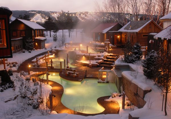 The Scandinave Spa In Blue Mountain One Of The Nicest Places I Ve Ever Been Can T Wait To Go Back One Day Weekend Escape Spa Getaways Winter Getaway