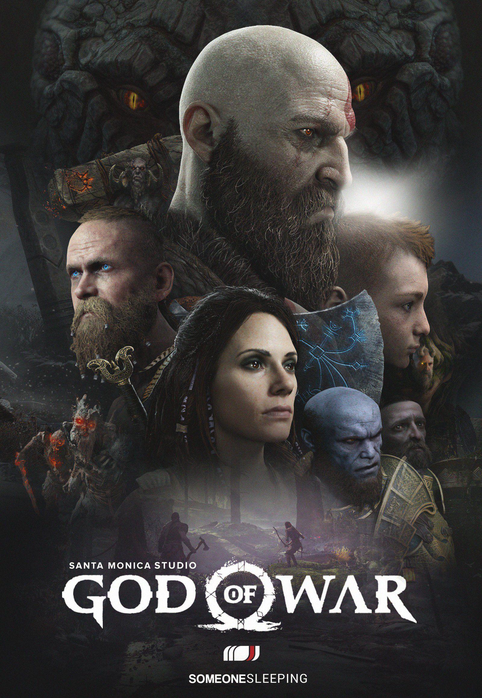 damonx on twitter kratos god of war
