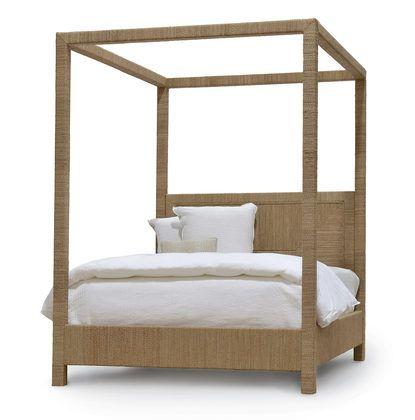 WOODSIDE CANOPY BED, KING by PALECEK | Palapa | Pinterest
