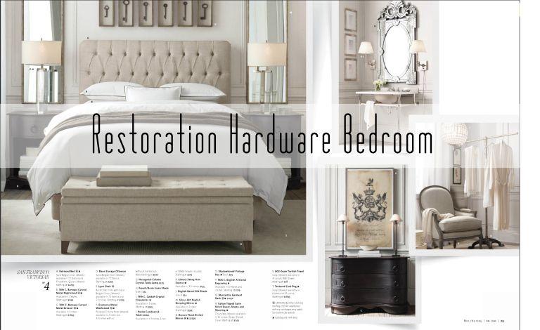 Get The Look For Less Restoration Hardware Bedroom Rh