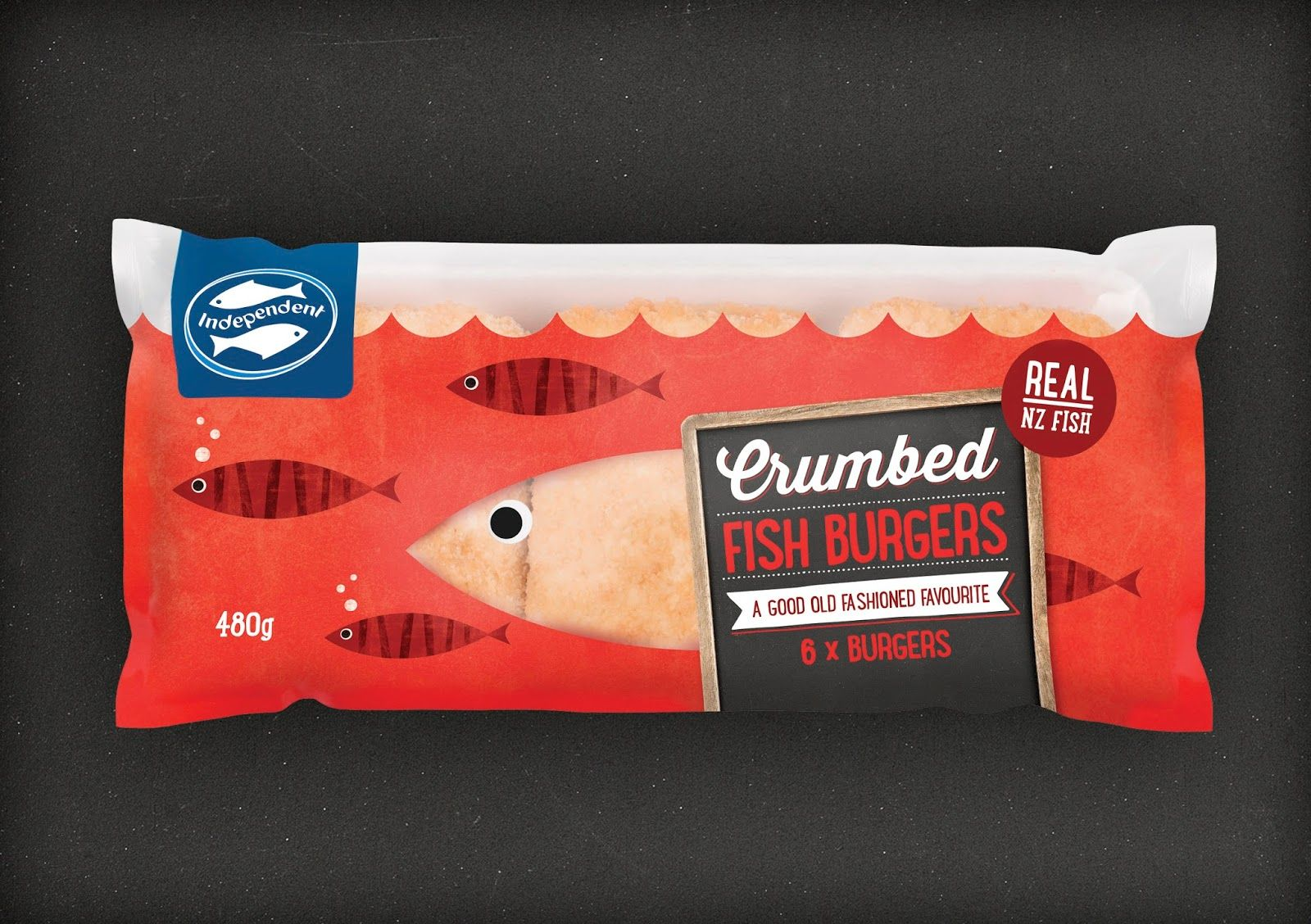 Independent Fisheries Creative packaging design, Brand