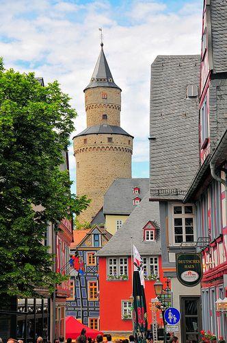 Der Hexenturm (Witches Tower) Idstein, Germany