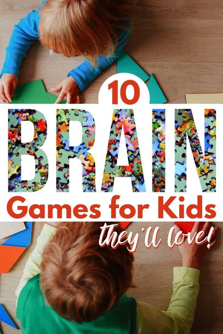 10 Fun Brain Games for Kids