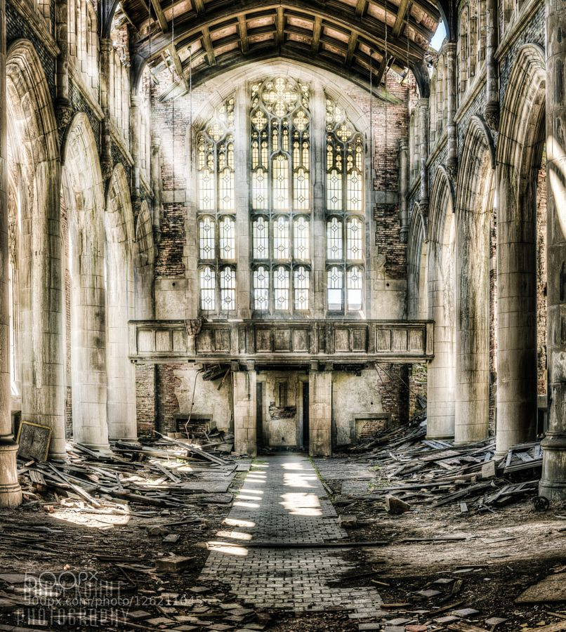Abandoned Midwestern Church By Adamkohutphotography