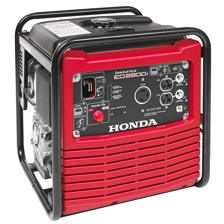 Honda Generators For Sale Near Me >> Honda Eg2800i 2 800 Watt Open Frame Inverter Gas Power