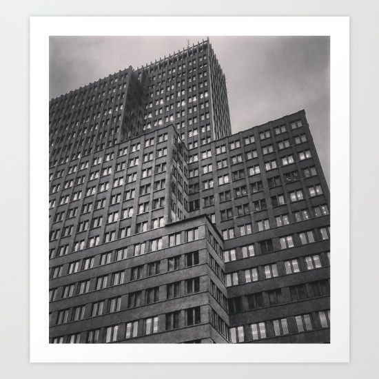 Black+Skyscraper+2+Art+Print+by+Steffen+Glaeser+-+$20.00