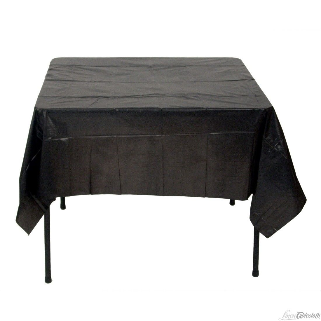 Amazing Square Disposable Plastic Tablecloth Black For Only $1.35 At  Linentablecloth.com Perfect