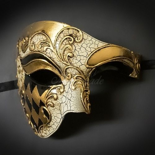 Popular Mens Unisex Masquerade Mask Costume Dressup Prom Wedding Party eye Mask