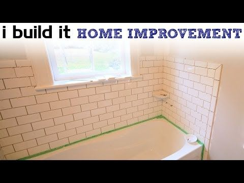 Part 1 How To Tile 60 Tub Surround Walls Preparation Where To Start Tiling Tile Layout Youtube Bathtub Tile Best Bathroom Flooring Window In Shower