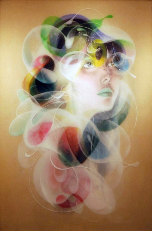 "Saatchi Art Artist: Jongwang Lee; Mixed Media Painting ""Emotion"""