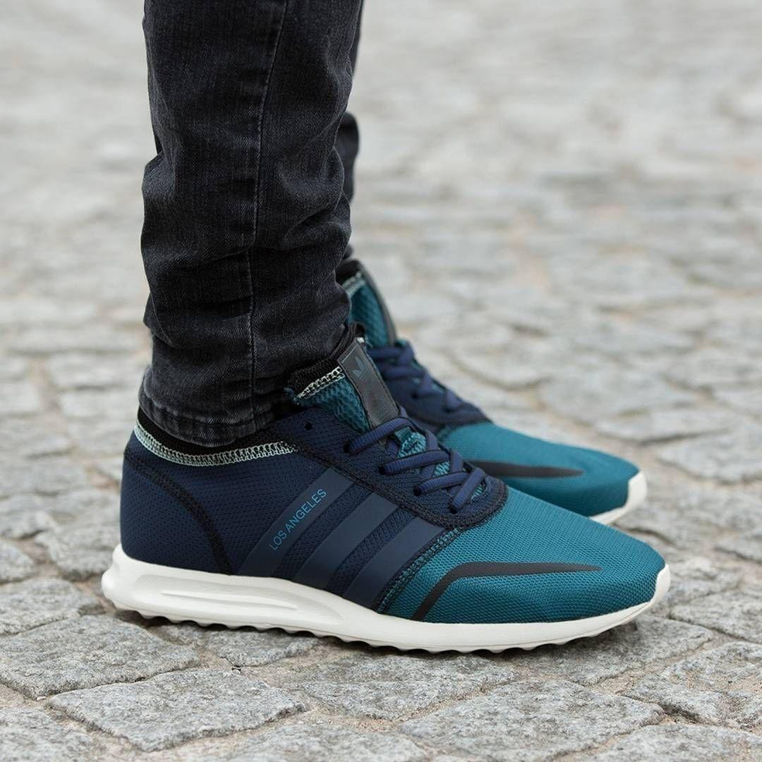 Adidas Originals Los Angeles Fashion Trainer Black Size