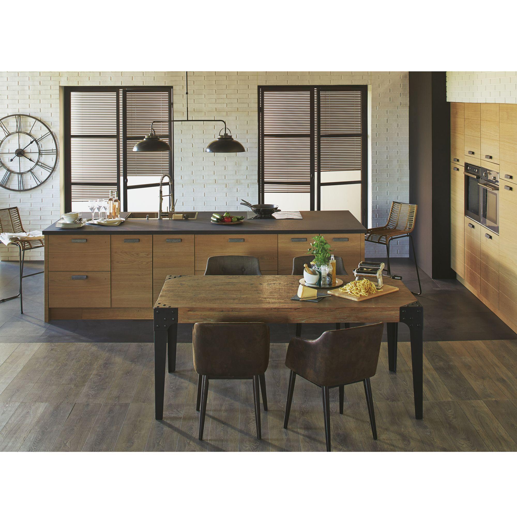 trendy cuisine composer modle type naturel origin les cuisines composer alina meubles de cuisine. Black Bedroom Furniture Sets. Home Design Ideas