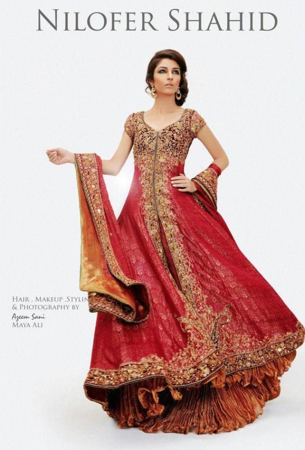 Latest and Stylish 2015 Bridal Dresses for Pakistani Women (4)