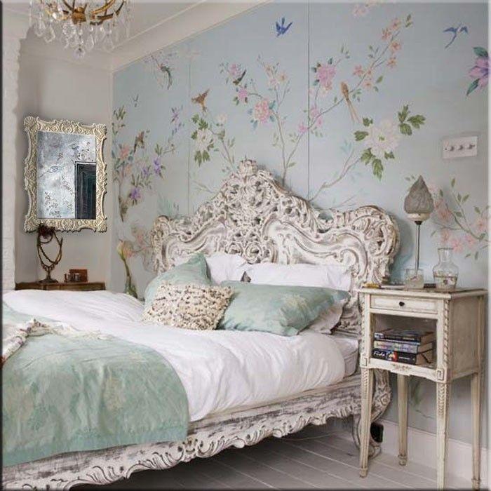 Vintage Schlafzimmer vintage schlafzimmer dekor ideen   zimmer ideen   pinterest