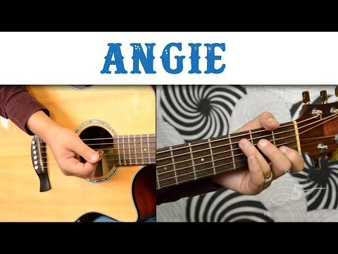 How To Play Angie By The Rolling Stones Learn Guitar Acoustic Guitar Lessons Best Acoustic Guitar