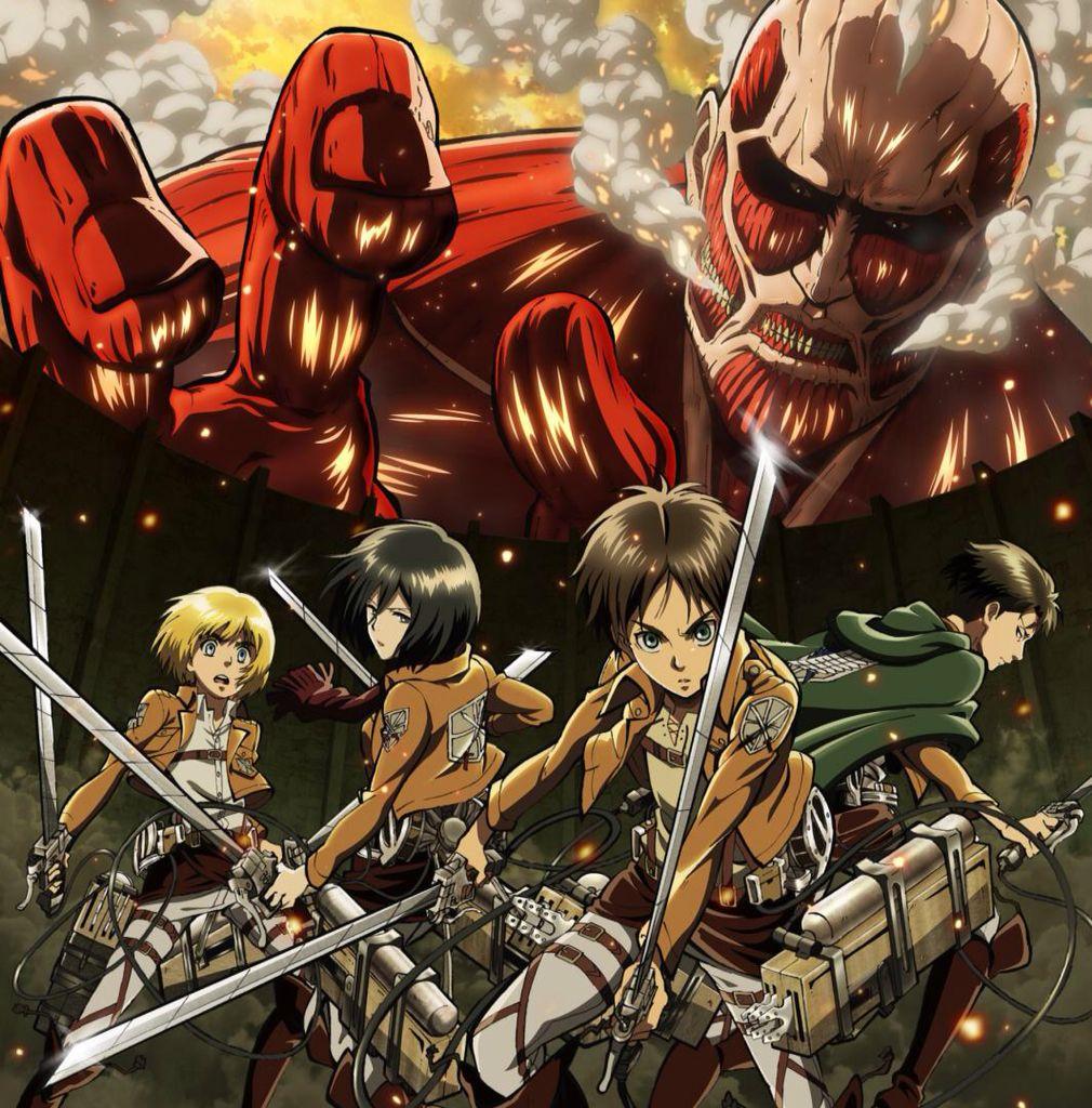 Shingeki No Kyojin Official Art