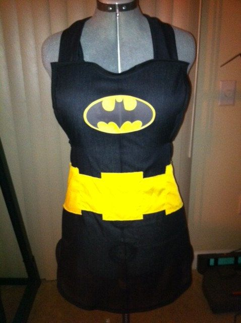 Re-design into an apron? I think yes! Tiny cape on the back of the neck?? Ab-so-friggin-lutely.