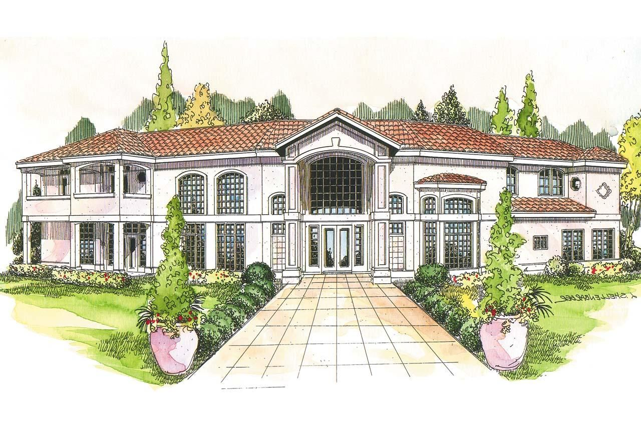 Luxury Mediterranean House Plans | House Plan Profile Return to Search Results