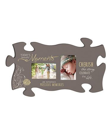 This Moments Puzzle Piece Photo Frame Is Perfect