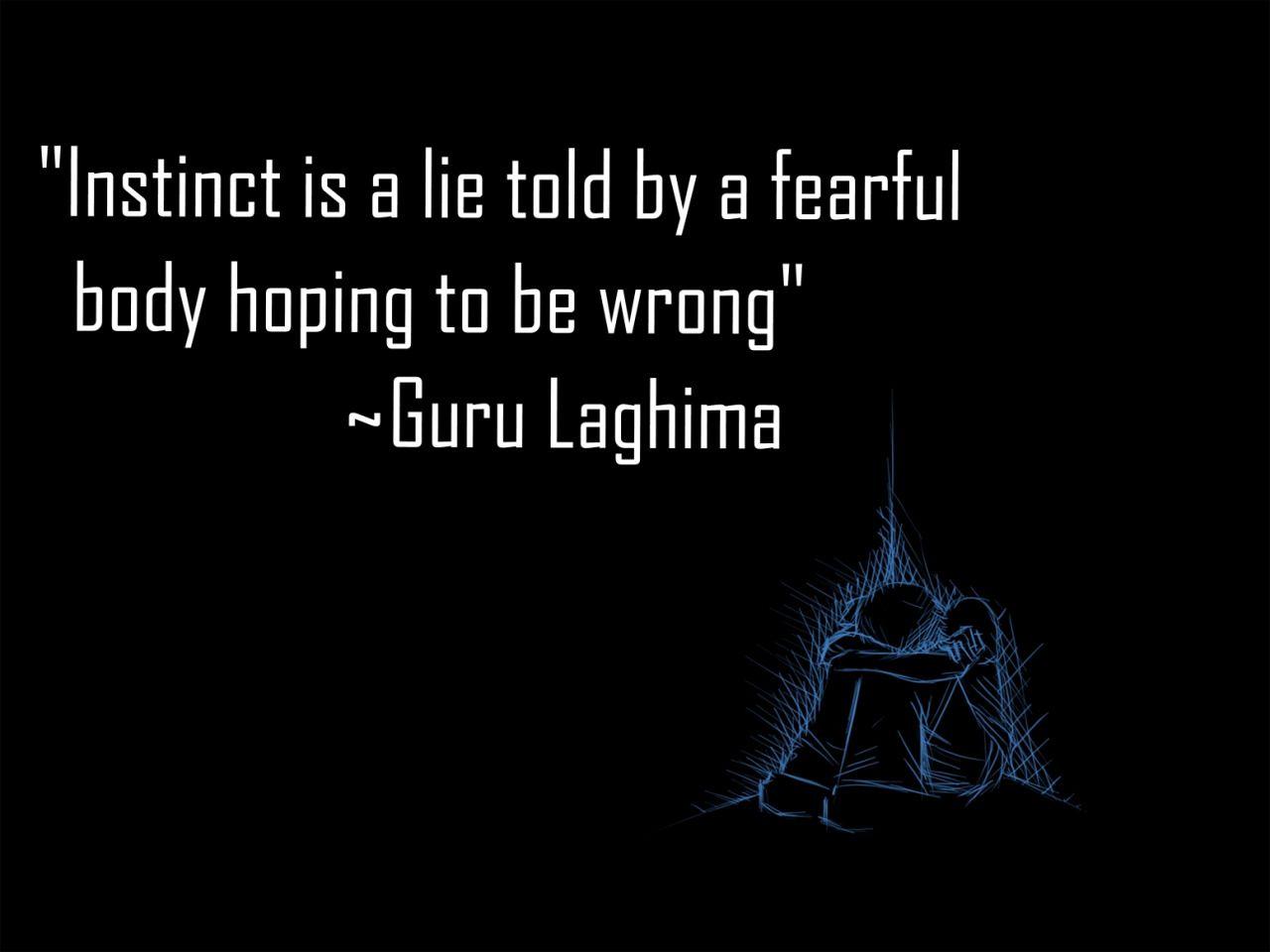 found on dark korra quote from guru laghima avatar the last