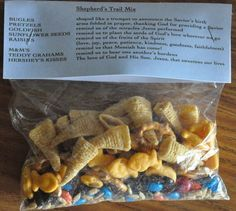 Ever wonder what neat ideas you can insert into your youth ministry retreat?  Of course you have, so have I. Heres a fun snack idea to put together for your next youth group retreat.