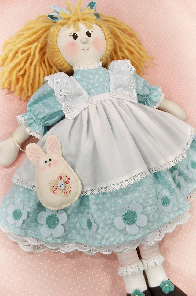 PDF - Alison Rag Doll Pattern   Muñecas artesanales, Muñecas y Artesanal