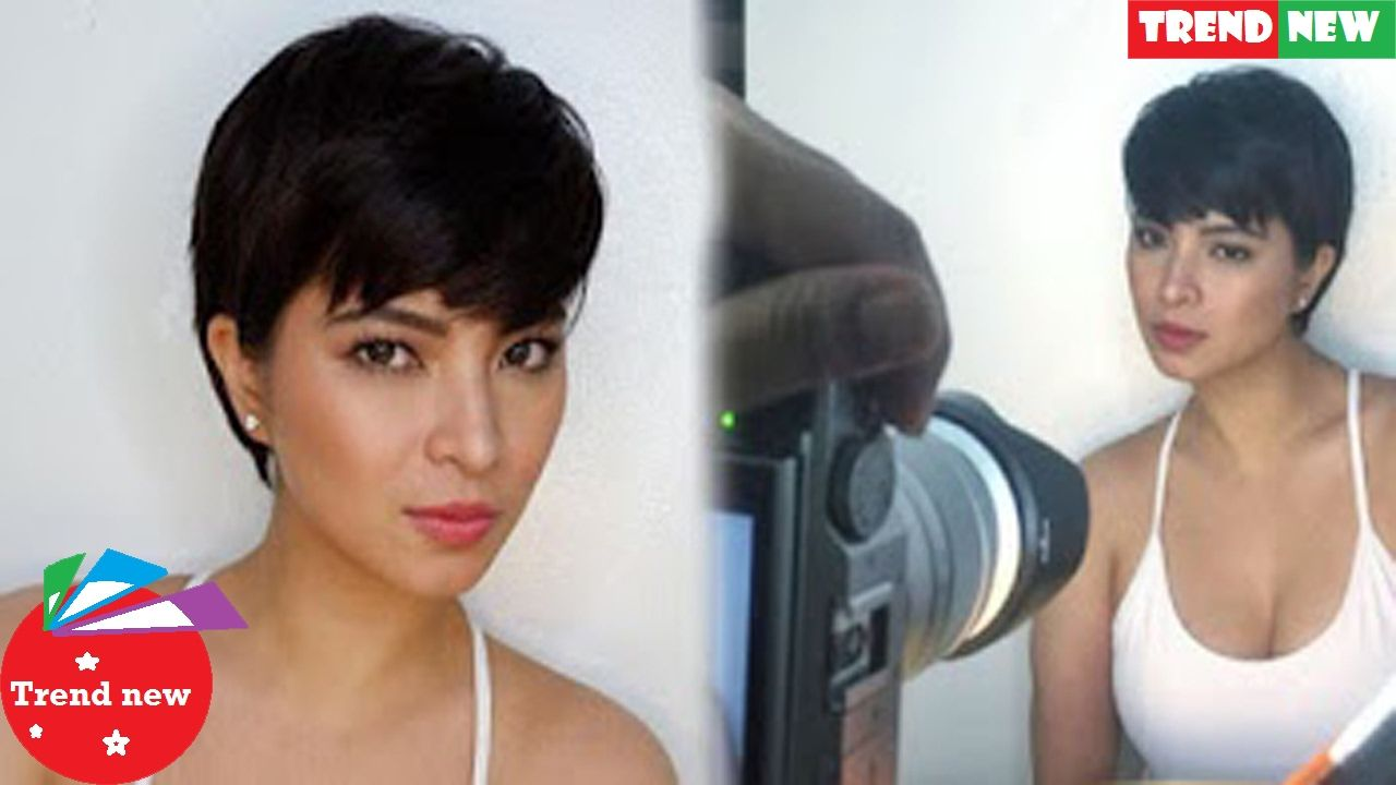 Vhong Navarro New Hairstyle Angel Locsin Rocks A New Pixie Cut Which Will Make All The Ladies