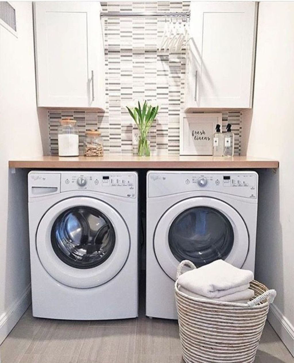 42 Minimalist Small Laundry Room Organization Ideas